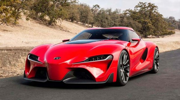 На Фестиваль скорости в Гудвуд приедет возрожденная Toyota Supra