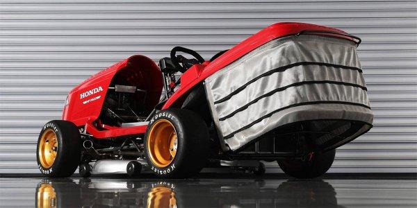 Honda намерена побить рекорд самой быстрой газонокосилки