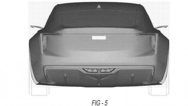 В сеть попали патентные изображения нового купе Cadillac