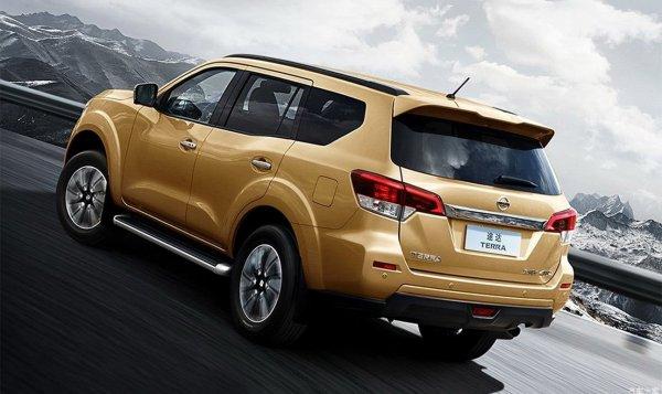 Внедорожник Nissan Terra получил трехрядную версию с дизельным двигателем