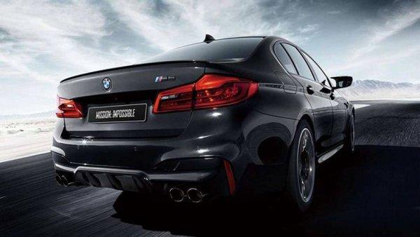 BMW презентует спецверсию седана BMW M5 в Японии