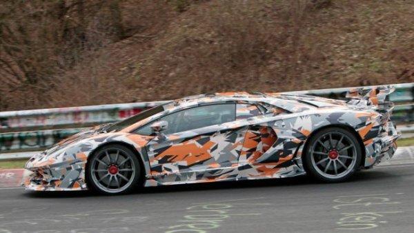 Lamborghini Aventador SVJ собирается побить нюрбургрингский рекорд