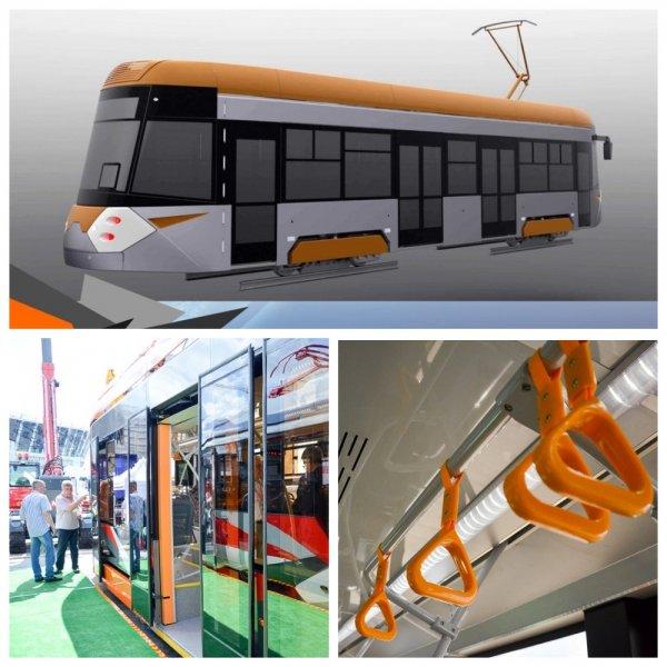 «Уралвагонзавод» представил новый трамвай на выставке ИННОПРОМ