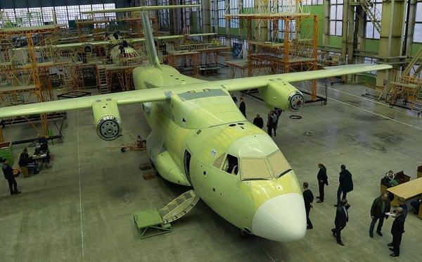 Воронежский самолет ИЛ-112В делают на 3D-принтере