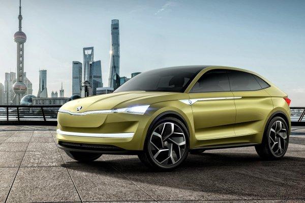 Skoda представит «заряженный» электрический кроссовер к 2022 году