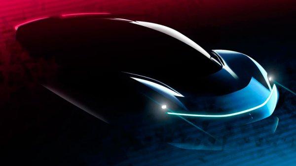 В сети опубликовали новые фото дизайна электрического гиперкара Pininfarina PF0