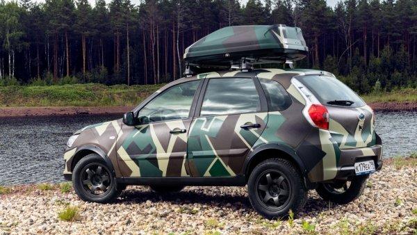 Datsun представил внедорожный хэтчбек Datsun mi-DO для активного отдыха