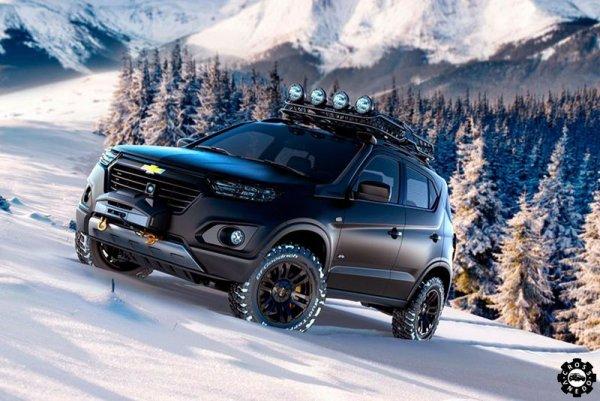 Внедорожники Chevrolet Niva подорожали на 15-17 тысяч рублей