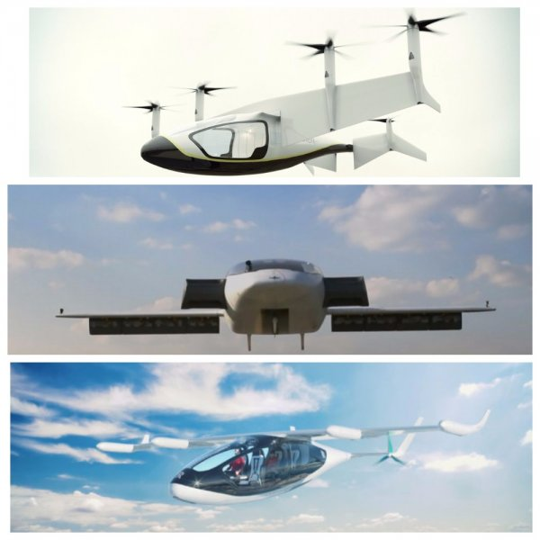 Представлен концепт летающего такси от Rolls-Royce