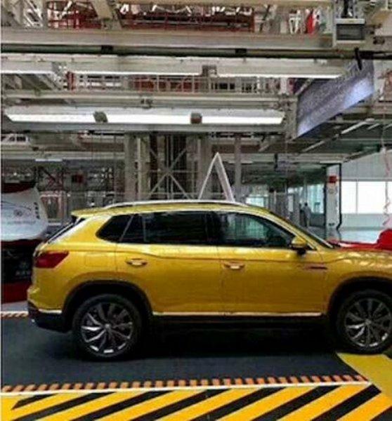 Представлены фото серийного кроссовера Volkswagen Tayron