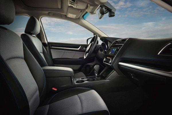 На тестах замечен новый Subaru Legacy