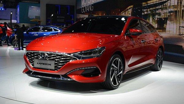 Появились первые снимки Hyundai Lafesta