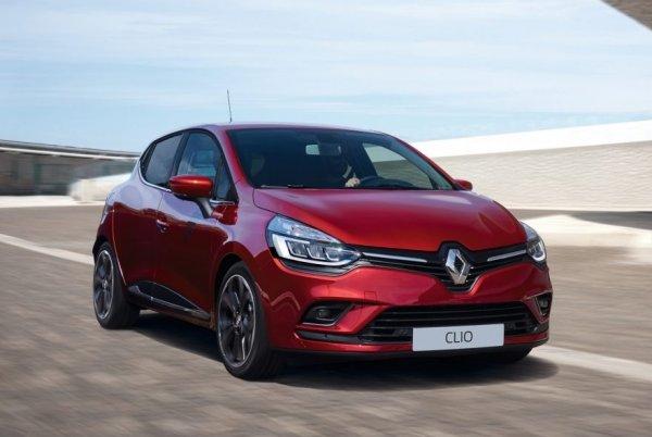 Хэтчбек Renault Clio нового поколения