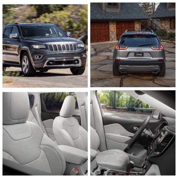 Названы цены и комплектации нового Jeep Cherokee для России