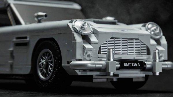 Lego выпустит набор с Aston Martin Джеймса Бонда
