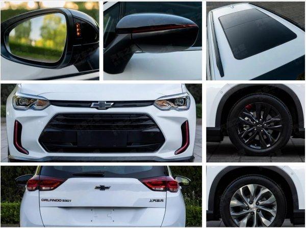 Китайцы рассекретили Chevrolet Orlando второго поколения на «живых» фото