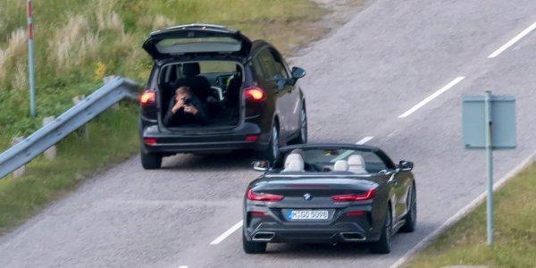 Кабриолет BMW 8 Series засветился на тестах без камуфляжа