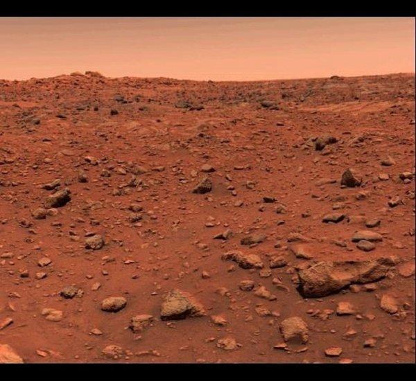 Агентство NASA продемонстрировало, как песчаная буря меняет облик Марса