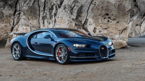 Bugatti собирается отозвать два гиперкара Chiron в США