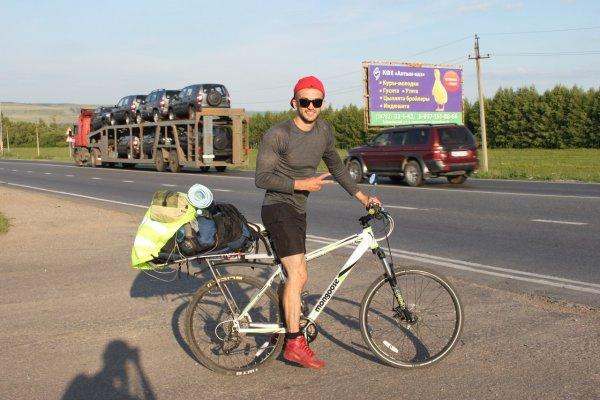 Житель Омска отправился на велосипеде в Исландию