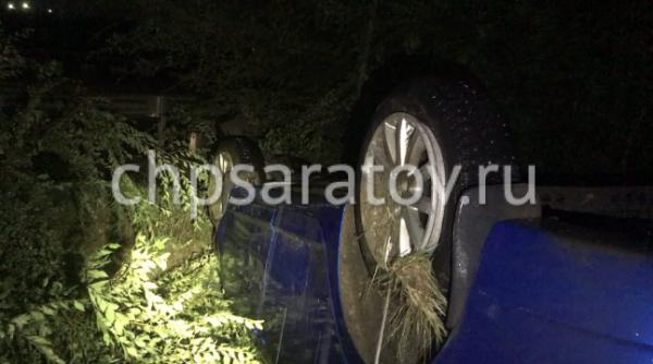 В Саратове автохам устроил два ДТП и скрылся от полиции