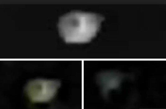 Британец из Лидса снял на камеру гигантский инопланетный НЛО