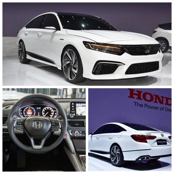 Продажи седана Honda Inspire нового поколения в Китае стартуют в октябре