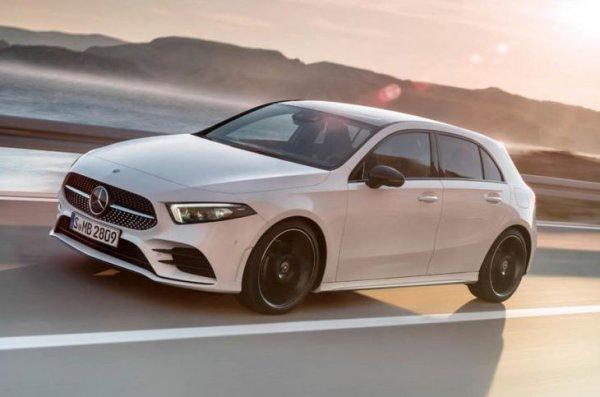 Новый седан Mercedes-Benz A-Class установил рекорд обтекаемости