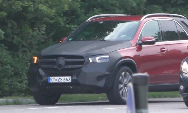 У Mercedes-Benz GLE и GLS появятся новые фары