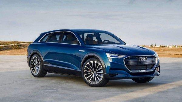 Официальная презентация электрокроссовера Audi E-Tron состоится 17 сентября