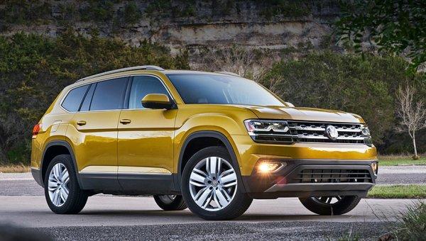 Рассекречен новый внедорожник Volkswagen Teramont для рынка России