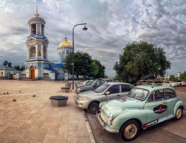 В Воронеже заметили Morris Minor 1967 года