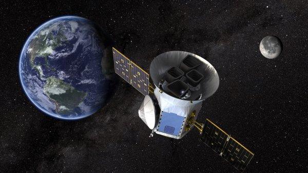 Телескоп TESS начал свою работу