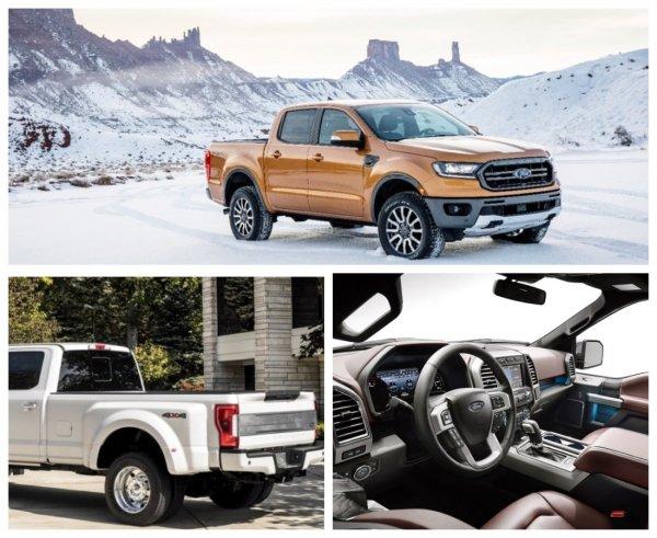 Ford выпустит к 2022 году небольшой пикап с несущим кузовом