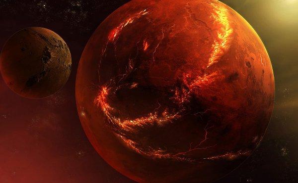 Ученые: Марс не пригоден для жизни еще 10 тыс лет