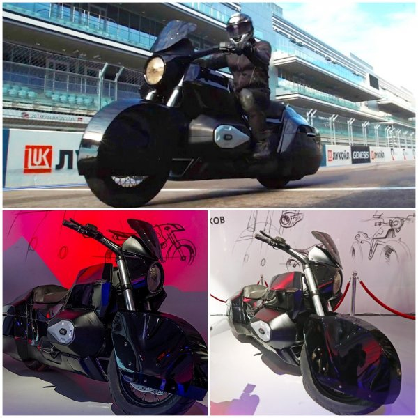 Не Aurus: Мотоцикл проекта «Кортеж» выйдет под брендом «Иж»