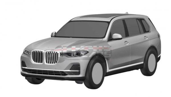 В сети рассекретили новый BMW X7