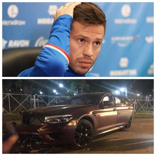 СМИ: Смолов признался, что был за рулем BMW в момент ДТП в Краснодаре