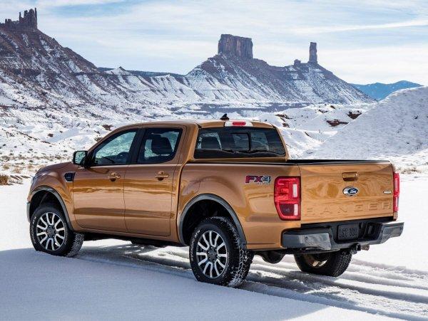 Новый Ford Ranger оснастят уникальной системой слежения за пространством