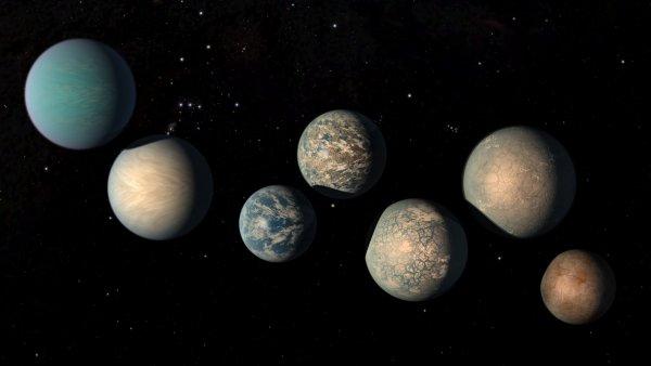 Астрономы перечислили планеты, где может зародиться жизнь