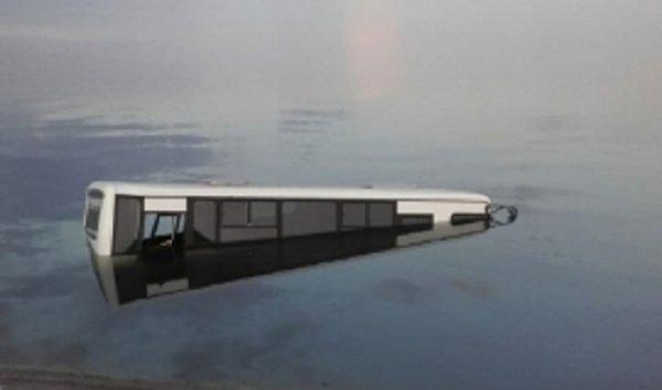 В салоне затонувшего под Липецком автобуса никого не оказалось