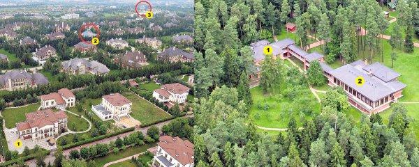 Роскошное место: Два бывших премьер-министра Украины живут рядом со Стасом Михайловым?
