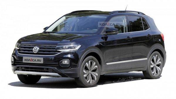Кроссоеер Volkswagen T-Cross появился на новых рендерах