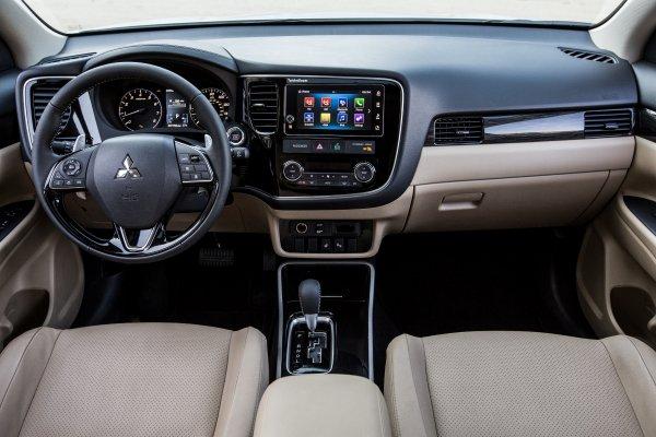 Обновленный кроссовер Mitsubishi Outlander едет в Россию