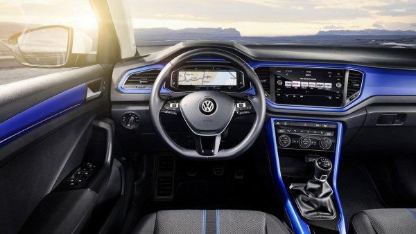 Volkswagen презентовал салон нового кроссовера T-Cross