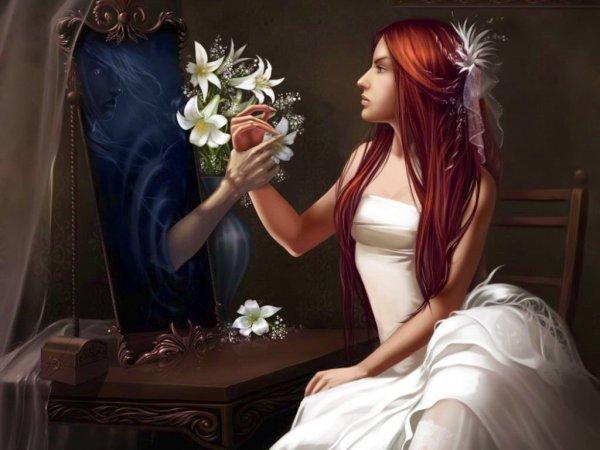 Ученые объяснили, откуда в зеркале берется «суженый-ряженый»