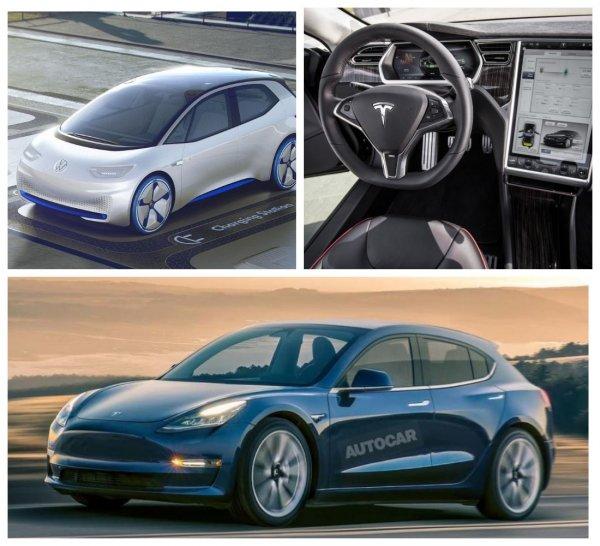 Tesla выпустит к 2022 году электрический хэтчбек для конкуренции с Volkswagen ID