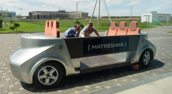Перезагрузка: Российский беспилотник «Матрёшка» получит новую версию