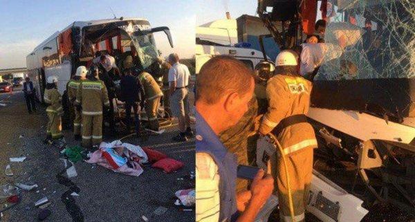 Грузовик против автобуса: На трассе М-4 «Дон» под Воронежем произошла смертельная авария