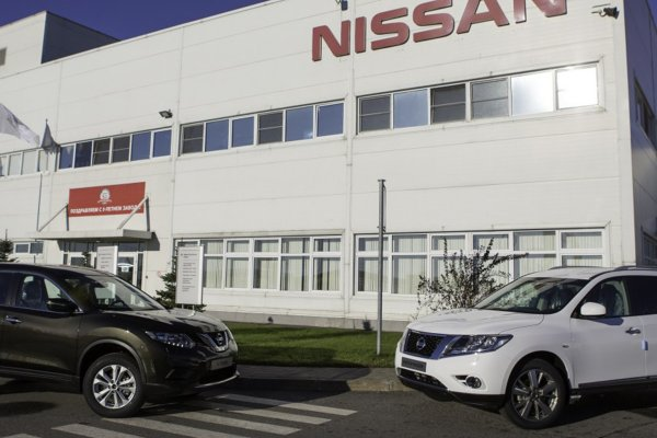 В России продажи Nissan выросли на 4%